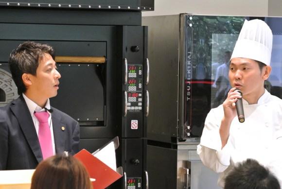 株式会社グローアップ古田高浩さんとパリゴ安倍竜三シェフ