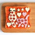 親子で楽しもう ワークショップ ネコピザトーストを作ろう!