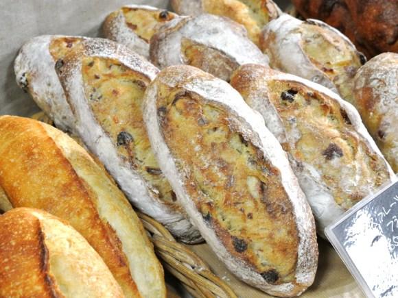ジェイアール京都伊勢丹パンフェスティバル「bread market やさしい風」のパン