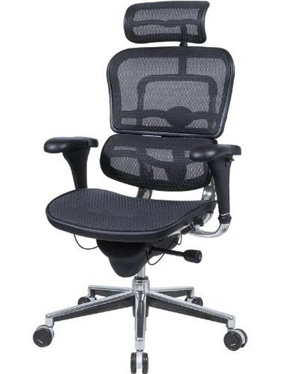 best office chairs for lower back pain the silver chair movie 2015 ergohuman black mesh hi swivel