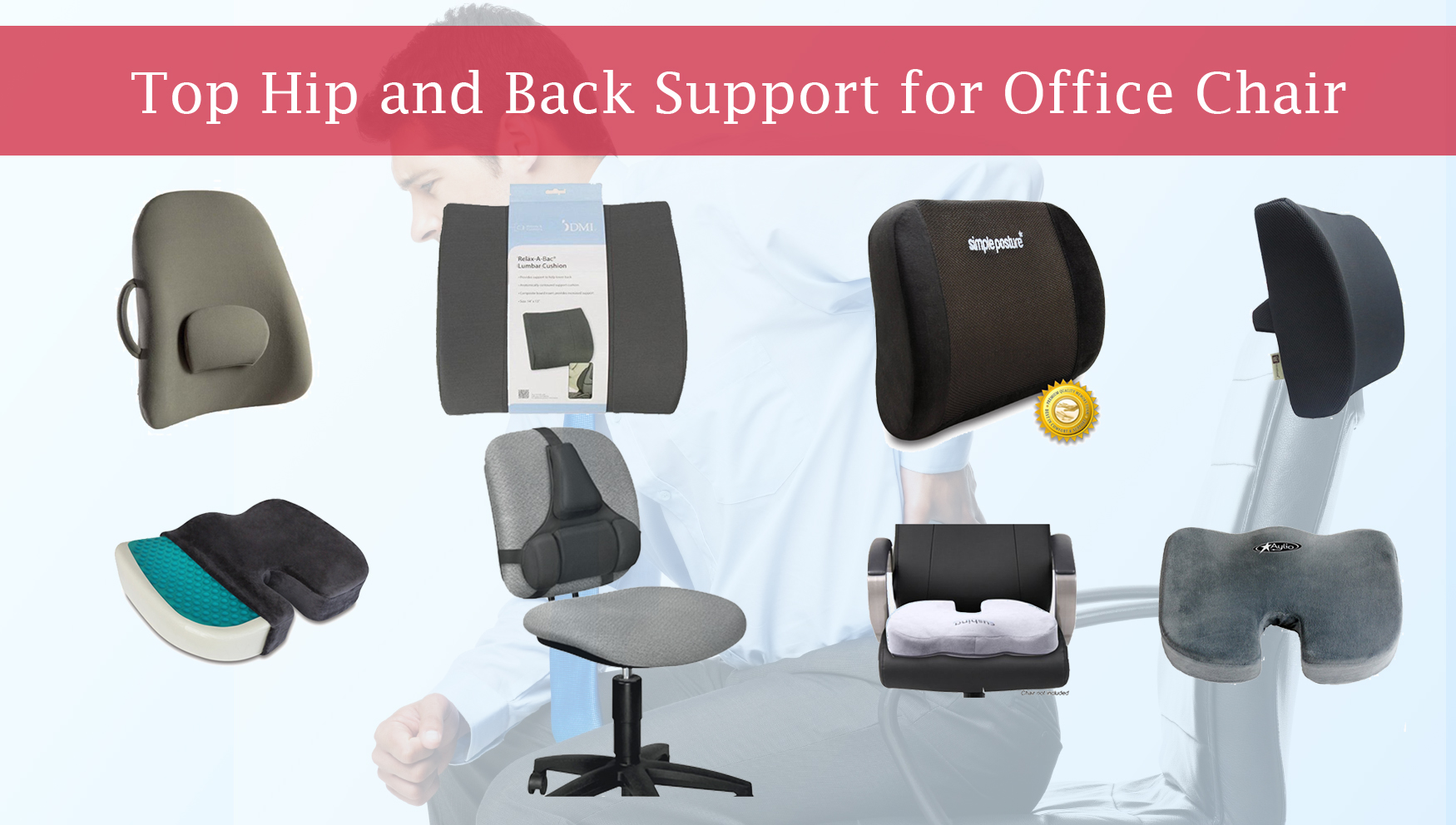 Lower Back Support For Office Chair Top Hip And Back Support For Office Chair