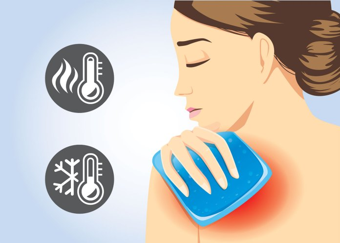 Back Pain Hot and Cold Therapy