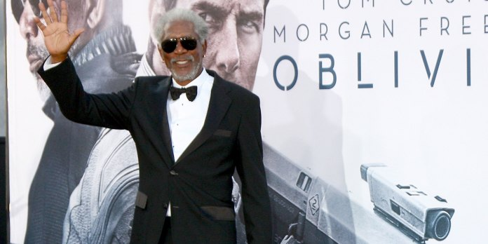 Celebrities with Chronic Pain - Morgan Freeman fibromyalgia