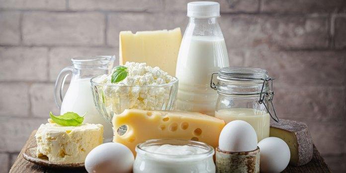 Avoid dairy with Fibromyalgia