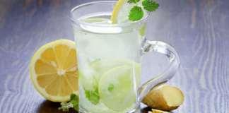 ginger mint lemonade