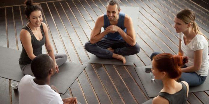 group yoga for chronic pain