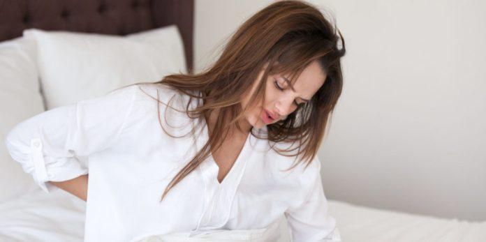 degenerative disc disease stuck in bed