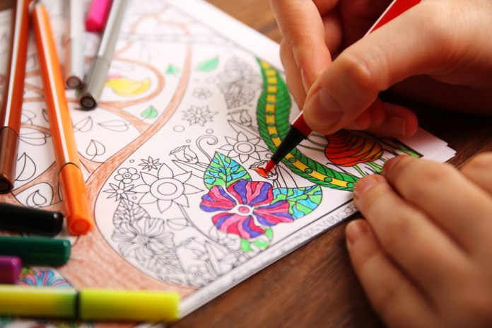 adult coloring book holiday gift ideas for chronic pain
