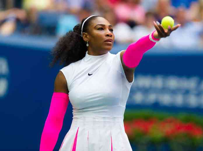 Serena Williams sings for Breast Cancer Awareness Month
