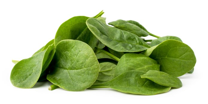 spinach helps Fight Pain