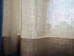 Arts  Crafts Style Curtains  Paint By Threads Original Arts  Crafts Textile Designs by