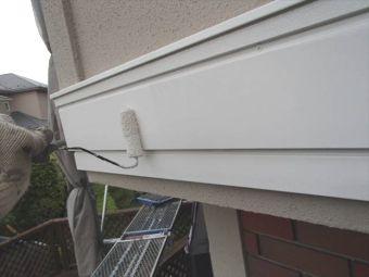 コロニアル屋根 ガイナ塗装 (11)