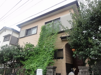 ガイナ 綾瀬市 コロニアル 屋根 塗装