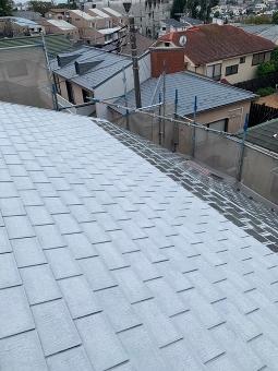 ガイナ 東京都町田市 コロニアル 屋根 塗装