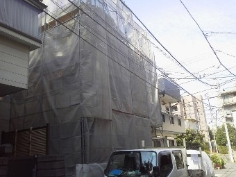 ガイナ 川崎市 コロニアル 屋根 塗装