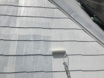 ガイナ 相模原市緑区 コロニアル 屋根 塗装