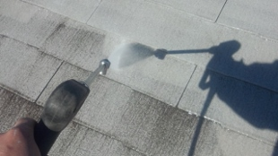 ガイナ 断熱 スレート 屋根 塗装
