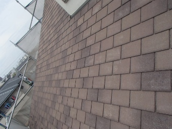 ガイナ 茅ケ崎市 コロニアル 屋根 塗装