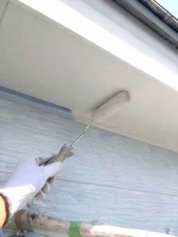 コロニアル屋根 ガイナ塗装 (4)