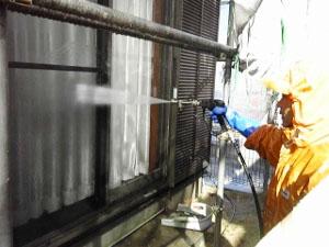 高圧洗浄6