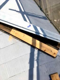 コロニアル屋根 ガイナ塗装 (1)