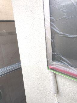 リシン外壁ガイナ塗装 (5)