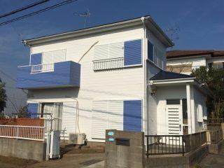 千葉県四街道市の屋根塗装外壁塗装遮熱塗料施工事例