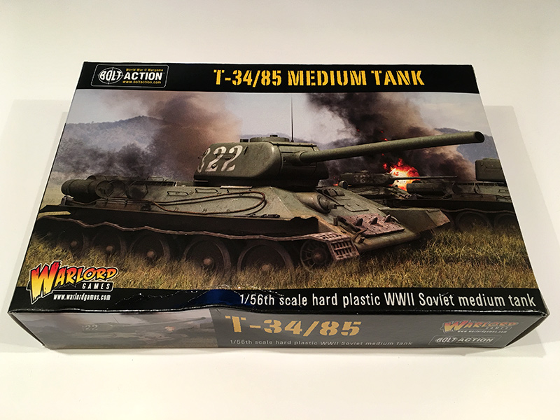 Bolt Action T34/85 - Front of Box