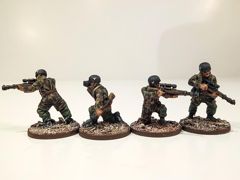 German Fallschirmjager Snipers