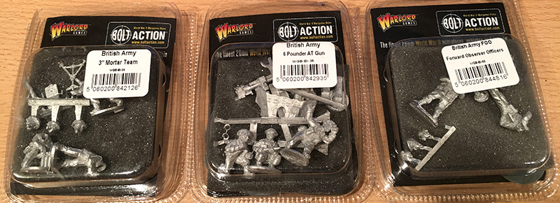 Warlord British Army Specialists