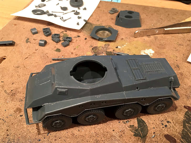 Puma Armoured Car Construction