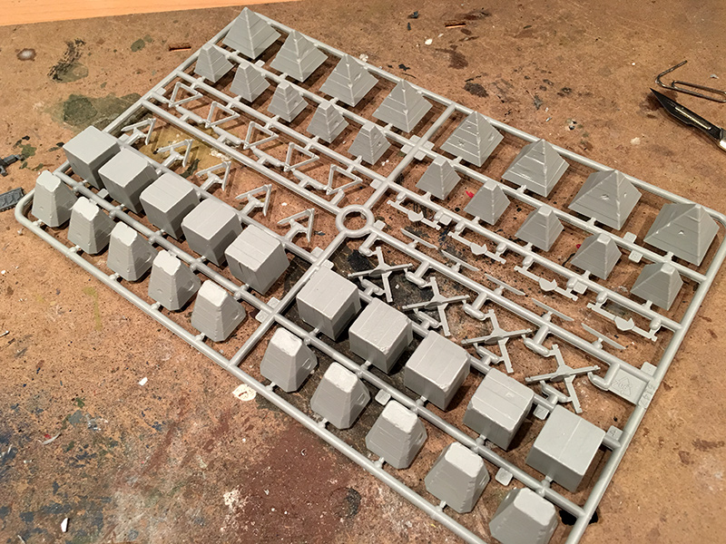 Anti-tank Obstacles Sprue