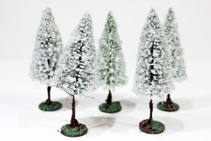 Winter Pine Trees from Aliexpress