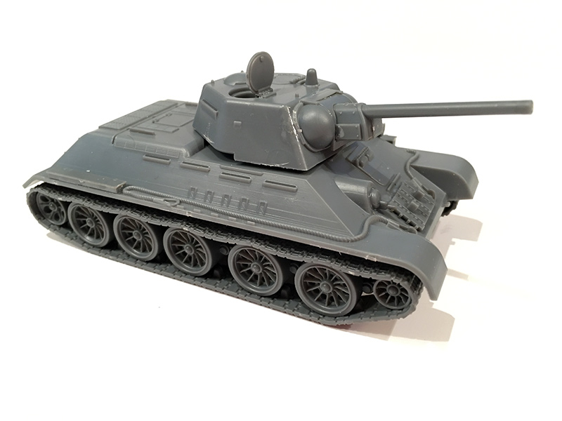 Warlord Games T-34/76 built up