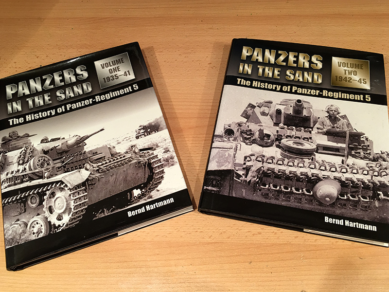 Panzers in the Sand - front covers