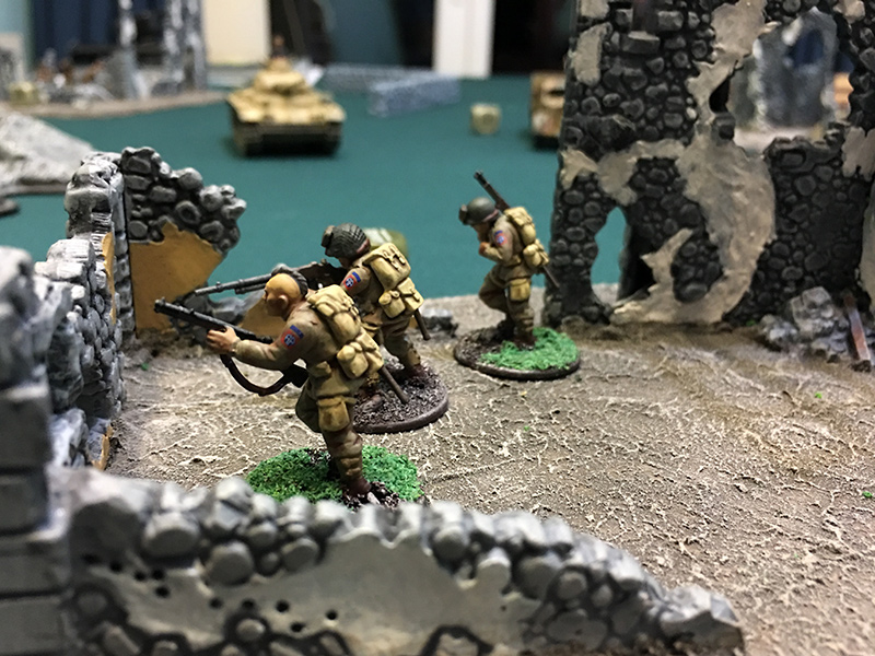 Three Airborne remain for their final assault