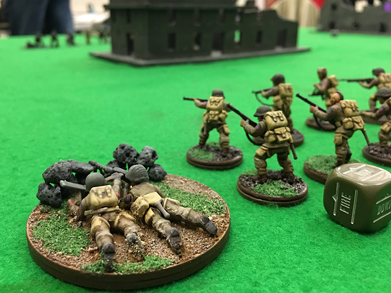 101st Airborne enter the table on the left flank