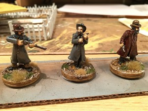 Painted Pinkerton Detectives