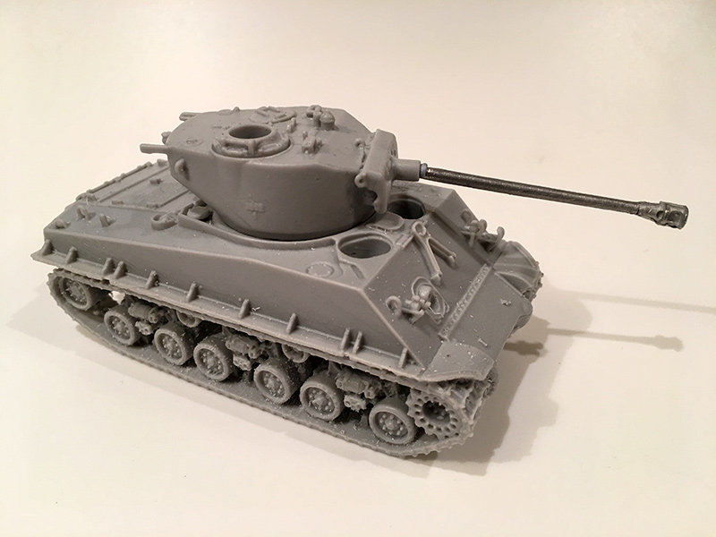 Blitzkrieg Miniatures 1/56 resin Sherman M4A1