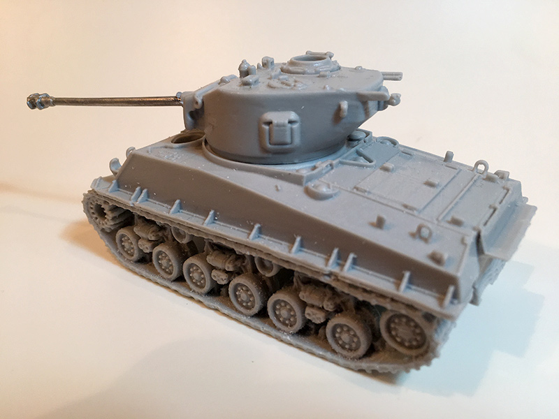 Blitzkrieg Miniatures 1/56 resin Sherman M4A1