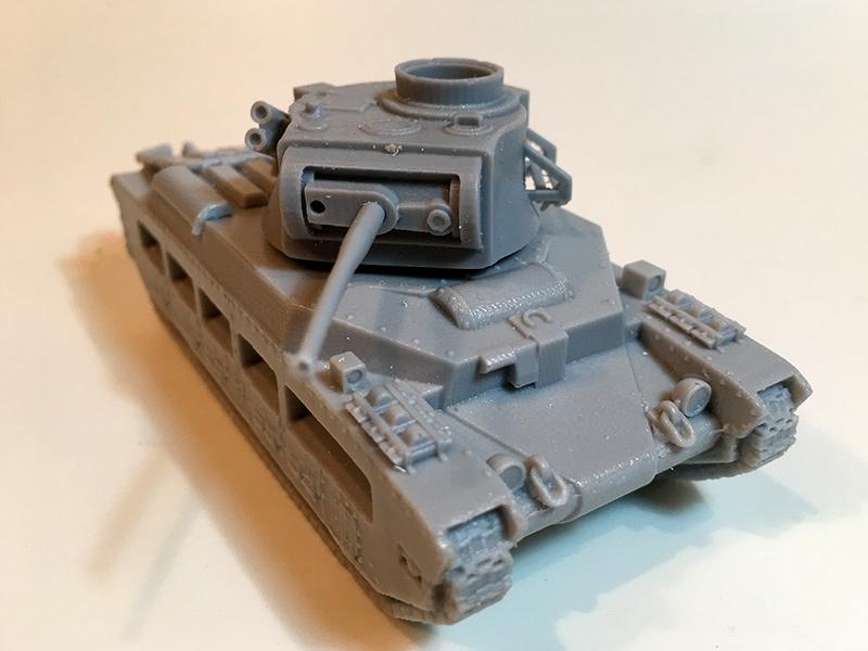 Blitzkrieg Miniatures 1/56 resin Matilda II