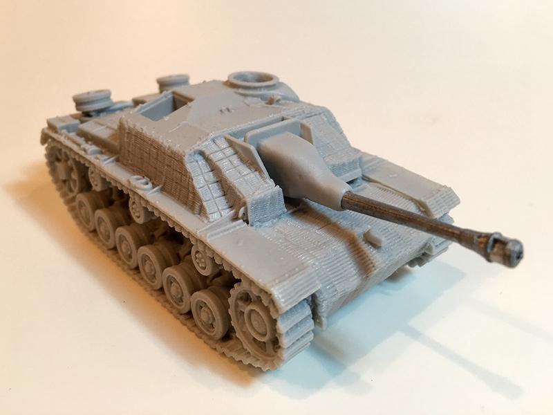 Blitzkrieg Miniatures 1/56 resin Stug III Ausf G