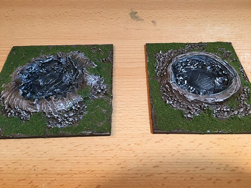 Bomb Craters