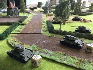 Russian T34s continue their advance