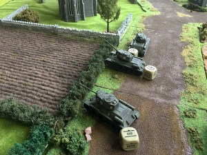 Russians start to flank the church