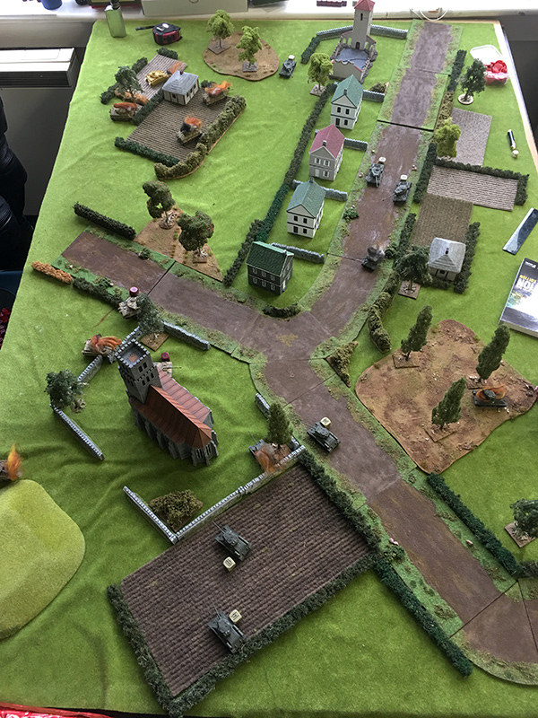 End of turn six