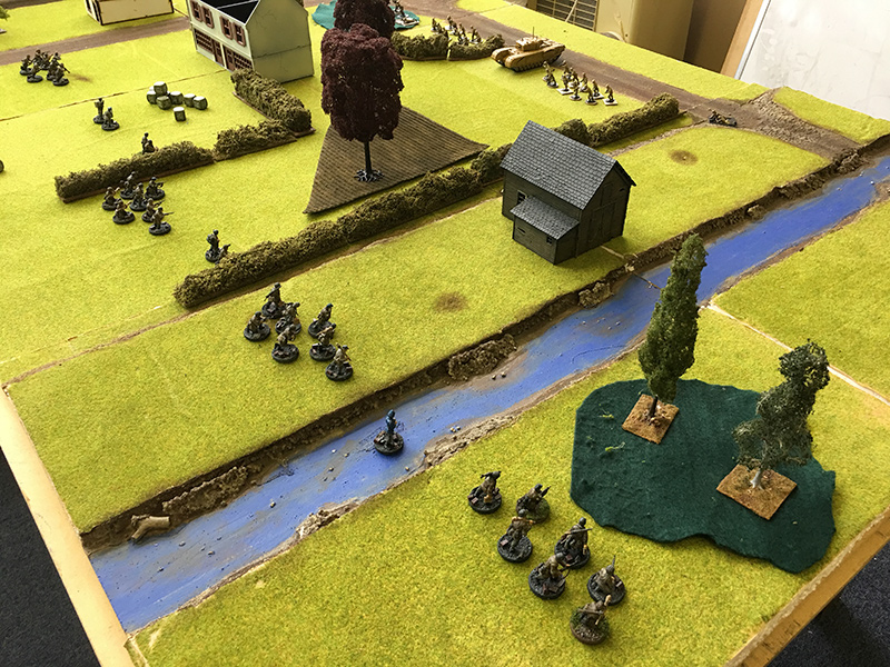 German Right Flank