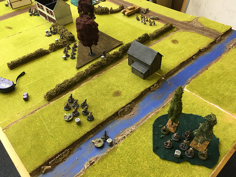 German right flanks advances