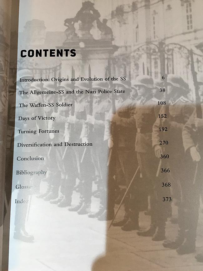 Hitler's Elite - Contents