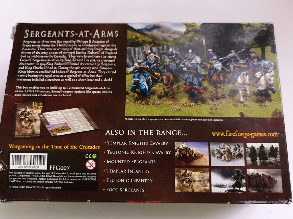 Fireforge Sergeants at Arms Box Rear